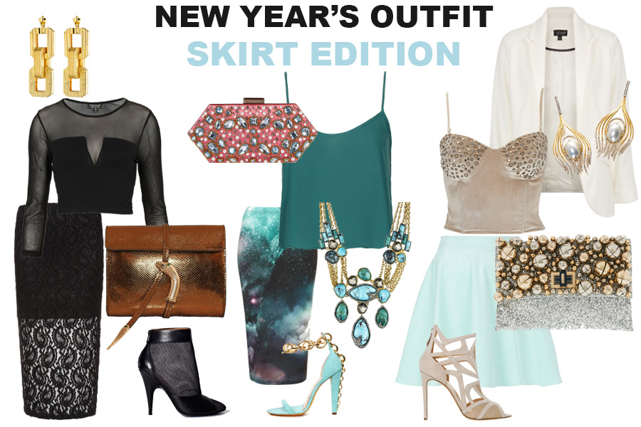 new year skirt
