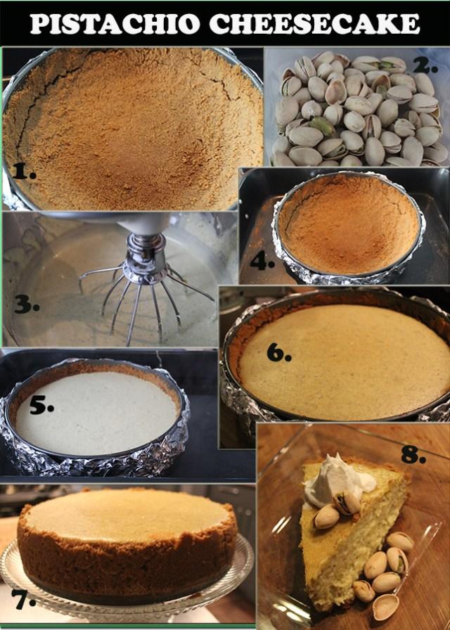 pistachio cheesecake 2