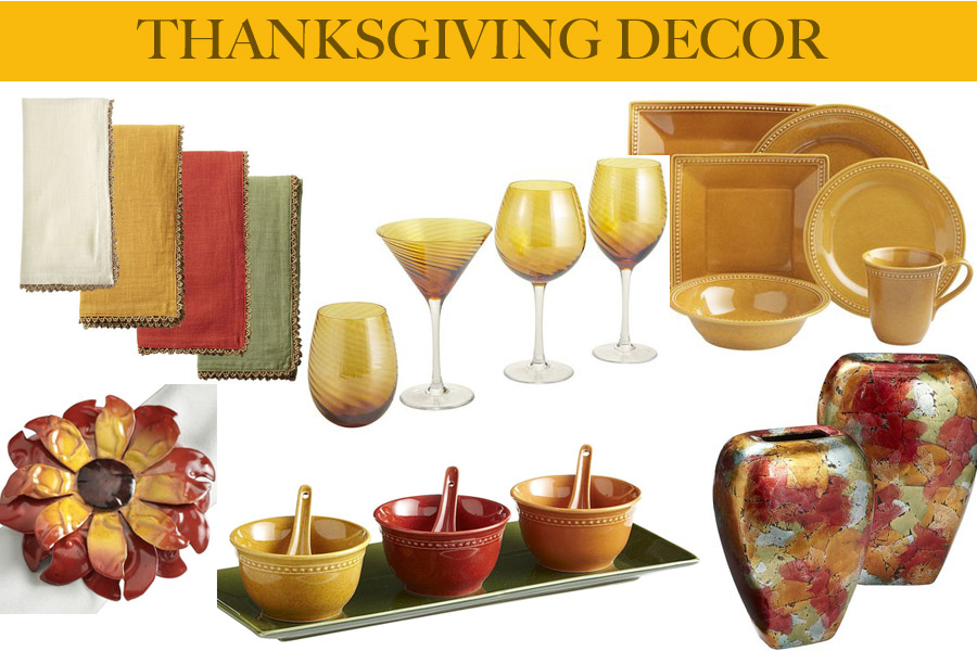 Home Decor Thanksgiving Edition Traffic Chic
