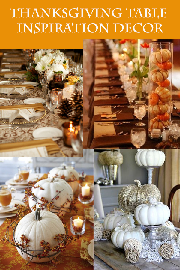 thanksgiving inspiration decor