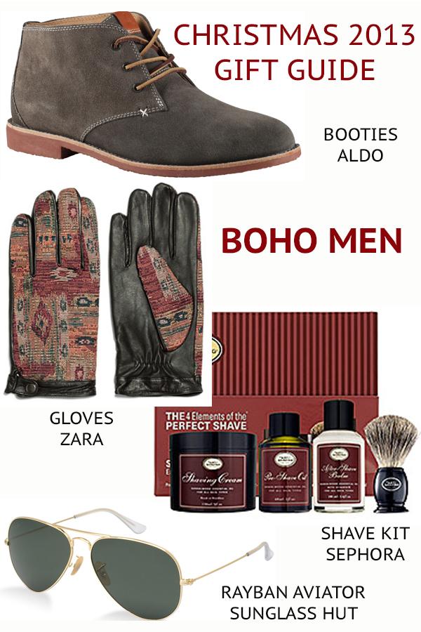 boho men gift guide