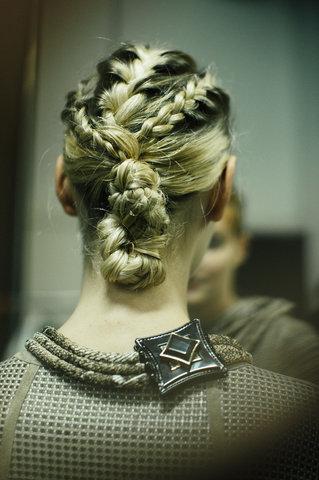 giorgio armani - braids