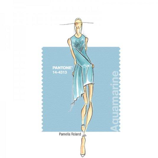 pantone aquamarine