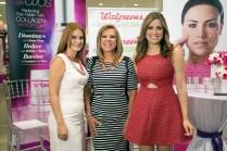 Iris Maldonado, Mirta C Perales y Shanira Blanco