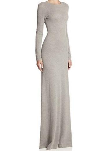 Ralph Lauren Black Label Cashmere Gown