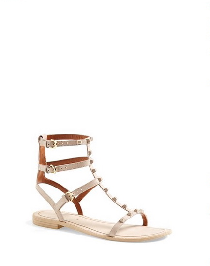 Rebecca Minkoff 'Georgina' Studded Leather Sandal