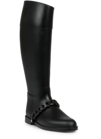 Givenchy - Chain Rubber Rainboots