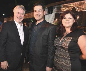 Thom Connors, Eduardo Cajina y Frances Melendez