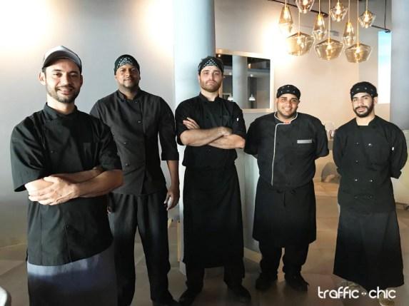 Chef Iván Pérez y su equipo