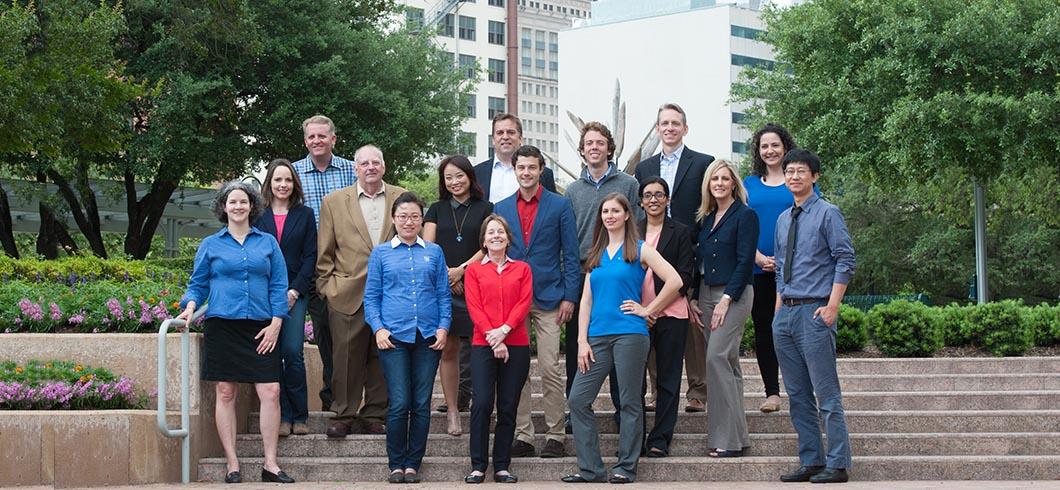TEI Team in Houston's Market Square