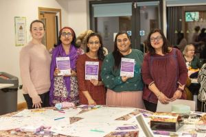 Trafford Rape Crisis at the Limelight Centre International Women's Day event