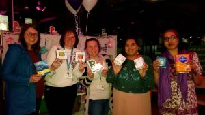 TRC ladies contribute sanitary products for Period Poverty