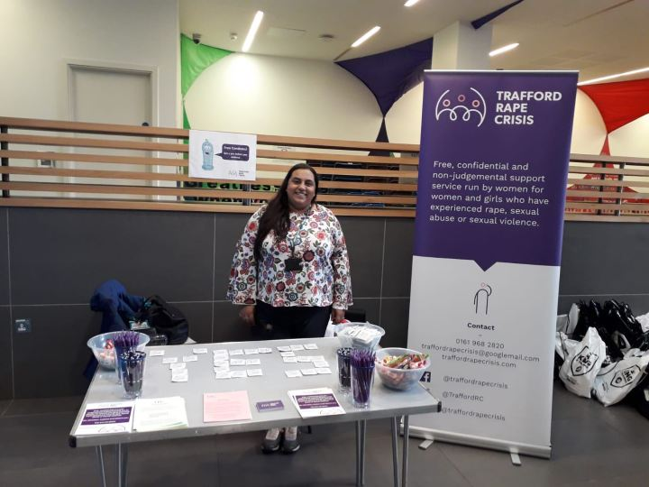 TRC attends Trafford College Freshers Fair