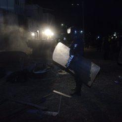 Desalojan asentamiento irregular en Valle de San Nicolás en Zapopan