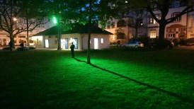 """Aufbau von """"Kleefeld leuchtet""""."""