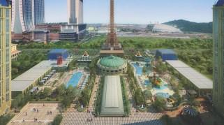 The Parisian Macao Outdoor Pool Deck