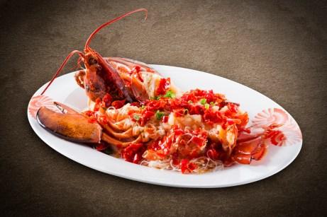風味居 - Steamed Lobster with Preserved Chili