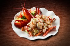 GM Laurel - Baked Lobster with Sprint Onion and Ginger in Rice Wine