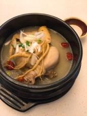 新羅寶-人蔘雞湯飯($128)
