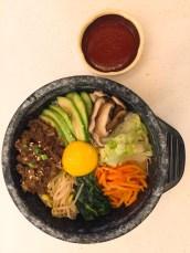 新羅寶-牛肉石鍋雜錦飯($68)