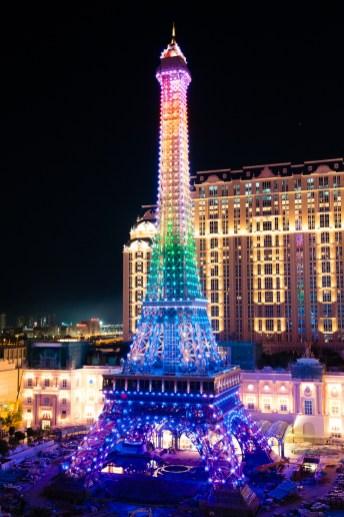 澳門巴黎人鐵塔夜景