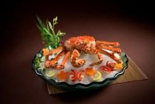 好彩海鮮火鍋酒家-皇帝蟹三食