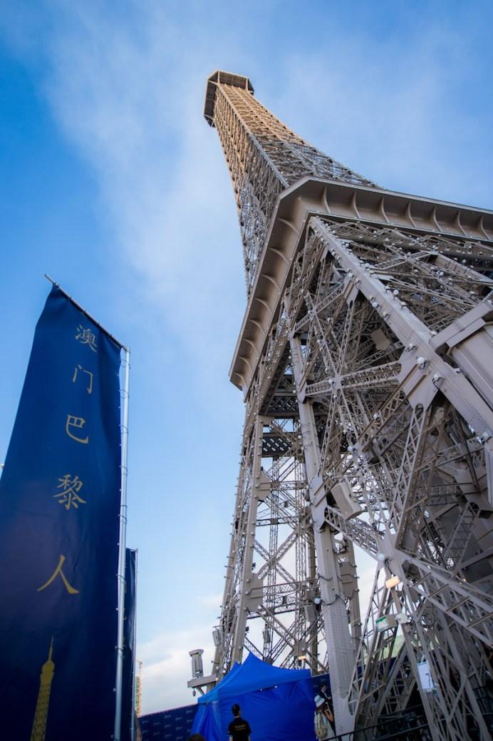 澳門巴黎人鐵塔日景