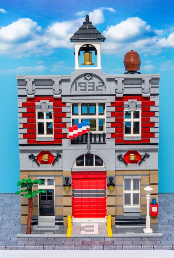 Lego Modular Building_Fire Brigade_1