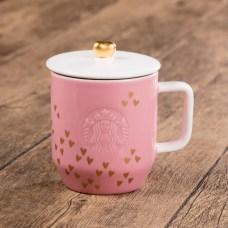 Starbucks_Pink Heart Mug with Lid