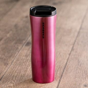 Pink Stainless Steel Tumbler