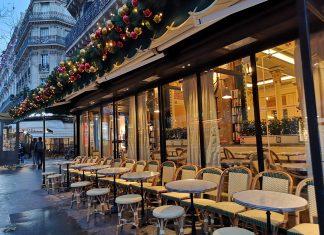 巴黎 左岸咖啡館