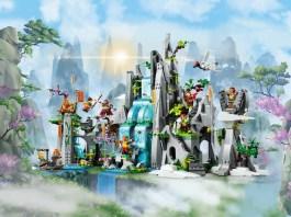 LEGO 悟空小俠 80024 傳奇花果山