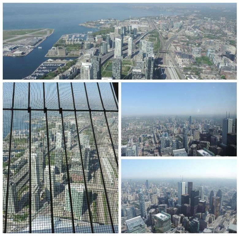 Vistas desde torre cn Toronto