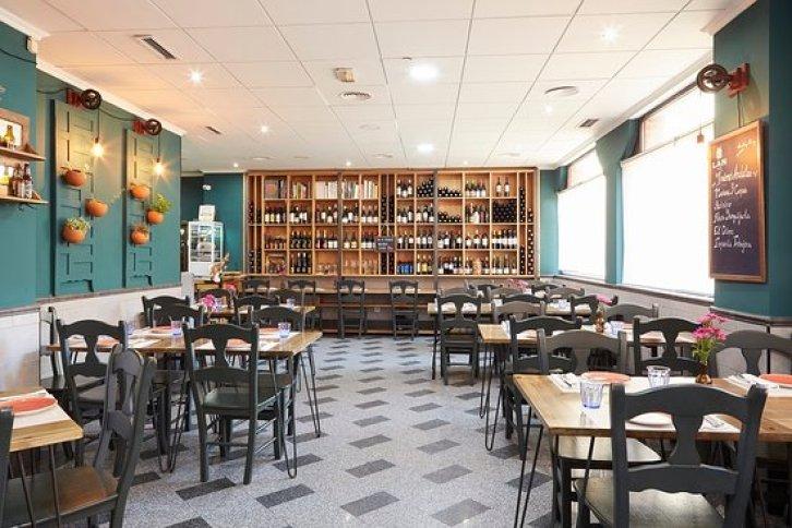 Salón del restaurante Uskar