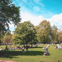 Un parque en Londres