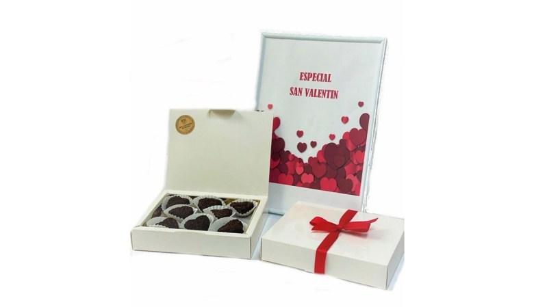 Dulces San Valentín: caja de mazapanes José Barroso