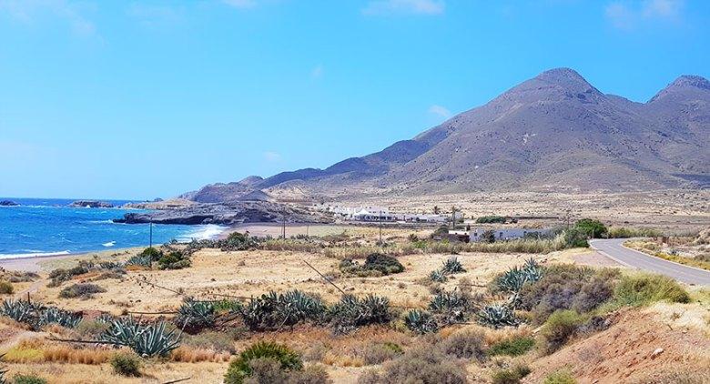 Los escullos en en Cabo de Gata
