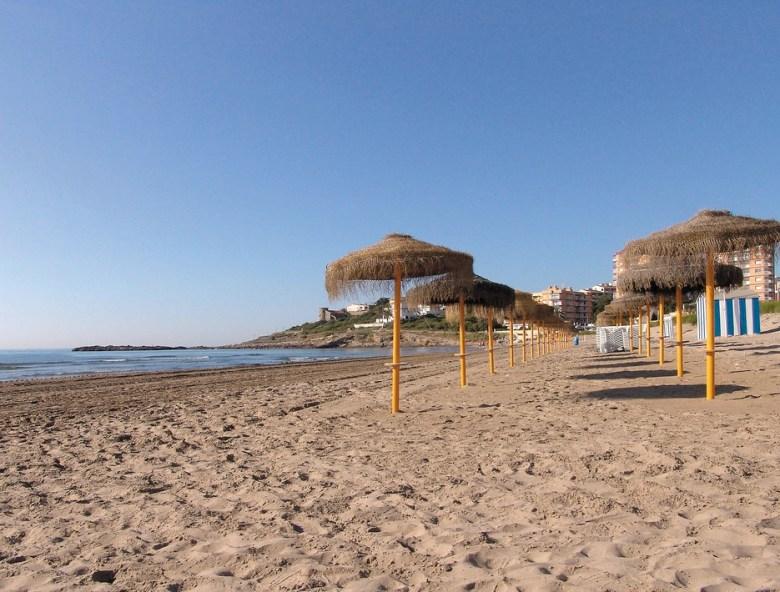 Morro de Goss, una de las mejores playas de Oropesa