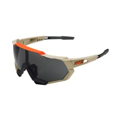100% Speedtrap Brille soft tact quicksand