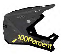 100% Status Helm carby charcoal