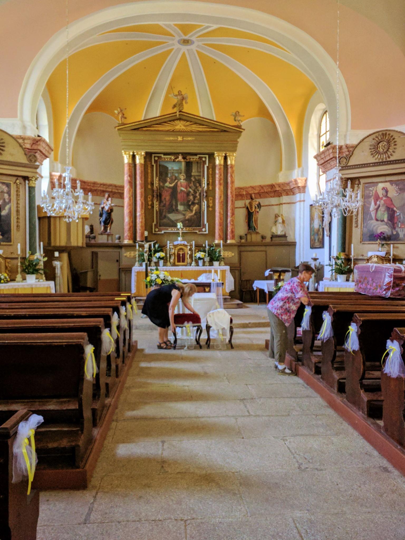 Innenraum der St.-Laurentius-Kirche