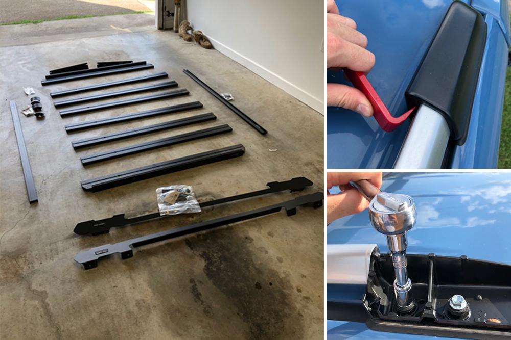 length roof rack install on 5th gen 4runner