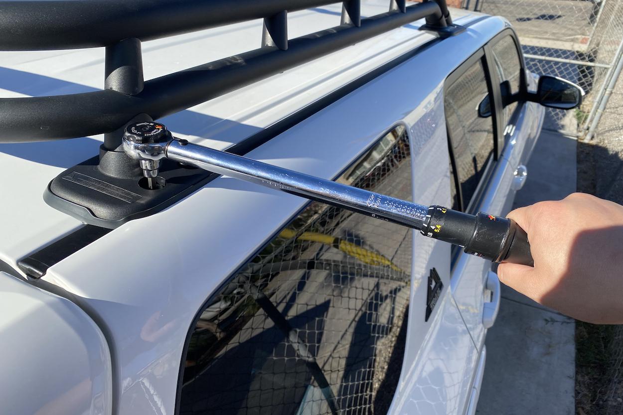 trd pro 2019 roof rack install guide