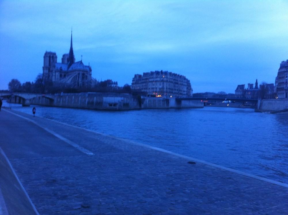 Autour de Notre Dame - Sortie longue