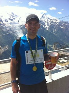Finisher du Cross du Mont Blanc 2011