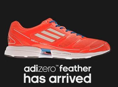 Adizero Feather, la chaussure de running ultra légère