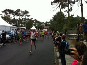 Marathon des villages 2011: le départ