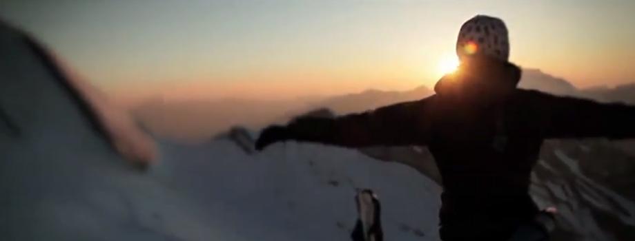 Vallée de Chamonix: vidéo hiver