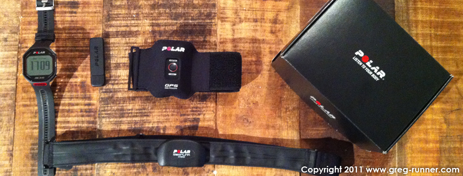 Polar RCX5 RUN et son GPS G5