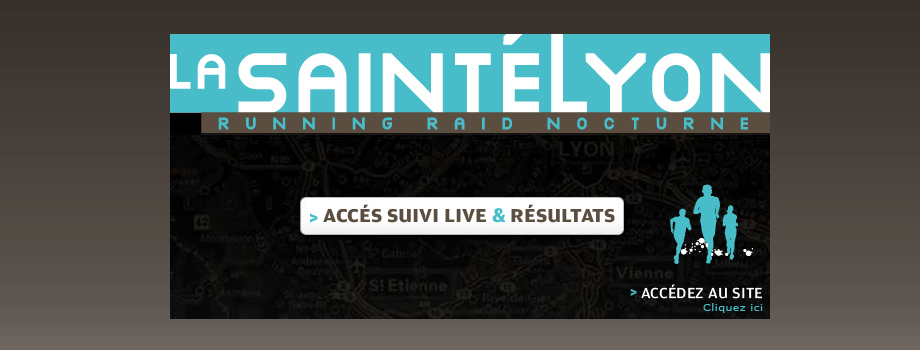 Saintélyon: suivi de course